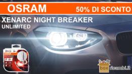 offerta osram xenarc night breaker unlimited