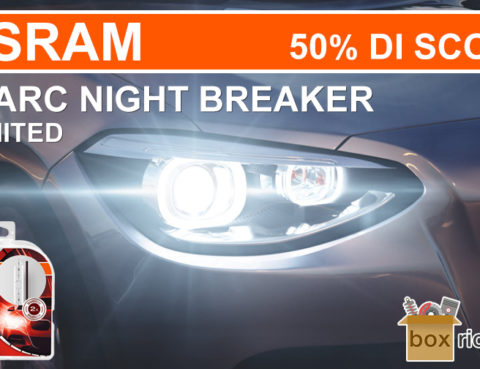 offerta osram xenarc night breaker unlimited