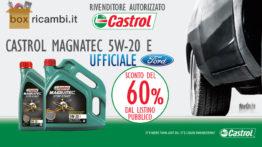 olio motore Castrol magnatec 5w20 e