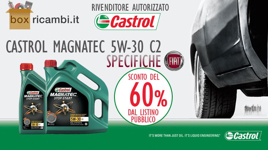 olio castrol magnatec 5w30 c2